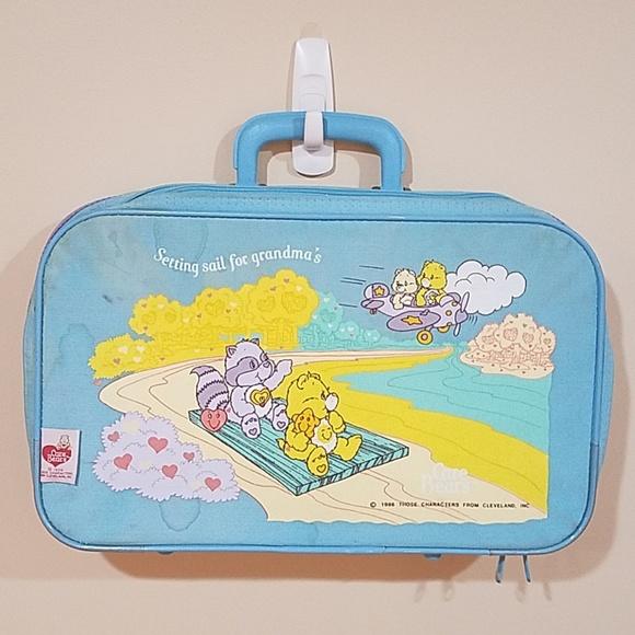 Rare Vintage Care Bears Pocket Compact Handbag Purse Mirror *CHOOSE!* 1980s